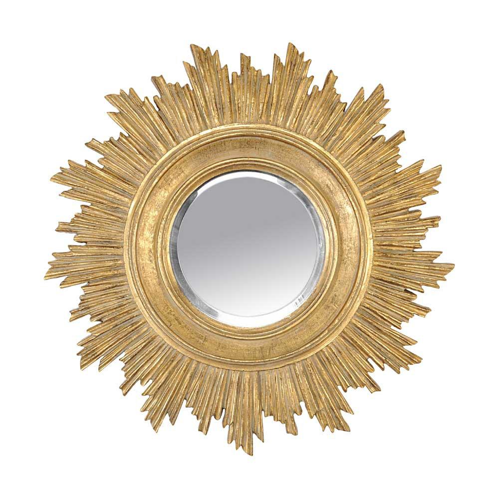 Espejos redondos en forma de sol lovetendencias for Espejos en forma de sol