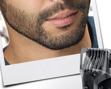 Barba corta o larga perfecta con el recortador de barba