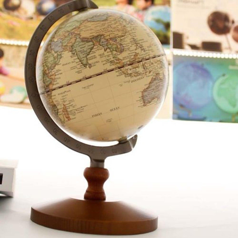 Bola del mundo vintage para decoraci n lovetendencias - Bola del mundo decoracion ...