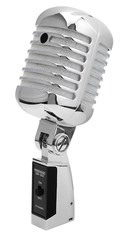 Microfonos Retro Vintage Para Decoracion Lovetendencias