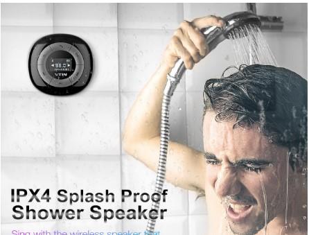 Altavoces bluetooth para la ducha impermeables no renuncies a cantar en la ducha lovetendencias - Canciones para la ducha ...